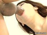 Lovely Asian Yui Komiya Gives Blowjobs In Threesome Sex