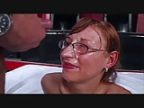 gangbang bitch with glasses