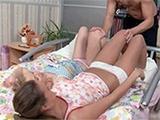Teen Girls Lose Their Innocence Side By Side