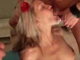 Hot Blonde Russian Teen Fucked Hard By School Mates.