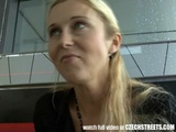 CZECH STREETS Blonde MILF Picked Up And Fucked