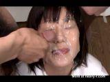 Lots Of Cumshots In Face - Bukkake Videos