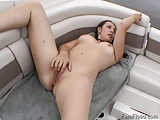 Trixie Masturbates to Squirting Orgasms Outdoors