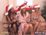 Kristen And Lesbians Open Up Christmas Presents And Try Them Out For Milf Next Door