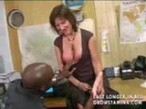 Redhead Gets Analized By ...