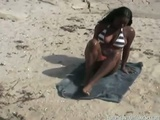 Ebony Sweetie Gets Fucked After Boat Ride