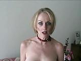 Melanie gets her slut on!