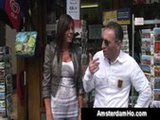 Horny foreigner takes se ...