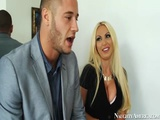 Busty Blonde Nikki Benz Fucking On Naughty America