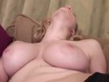 Busty Blonde Fingering Herself