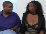 Natural Big Breasted Ebony Gets Hood Hunted