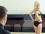 Beautiful Blonde Knows How To Set Irresistible Temptation