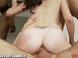 DevilsFilm Slutty College Girl Gangbanged