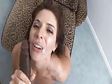 Milf Lets Black Cock Nut On Her Face (POV)
