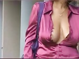 Supernature, milf downblouse walk on the street