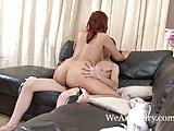 Jasmine Z's hairy pussy porn video