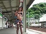 Public Jap Girl