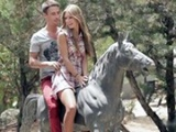Riding The Horse Made Her Very Horny