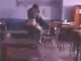 Girl caught fucking teacher in class