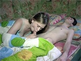 Horny Teen Woke Up Her Boyfriend With Amazing Blowjob