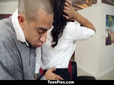 TeenPies Ebony Adrian Maya Loves A Sticky Creampie