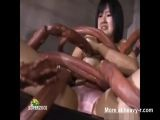 Abused By Monster Worms - Japanese Videos