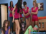CFNM Sorority Skanks In Reverse Gang Bang