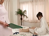 Japanese Lesbians (The Hentai anal massage therapist)