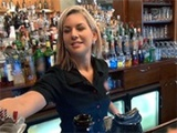 Gorgeous Czech Bartender Gets Paid For A Quick Fuck Behind The Bar