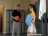 Amateur Teen Cheerleader Fucked By Coach 2