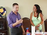 Busty Latina babe Mariah Milano fucking