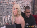 Cuckold Watches Brooke Summers Take Her First BBC