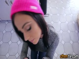Clothed Teen Throats Pov