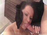 Ball Licking And Facial From Teen Newcomer
