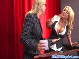 Bigass Squirting Scholgirls Facial At Debate