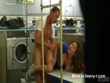 Public Sex At Laundromat - Public sex Videos
