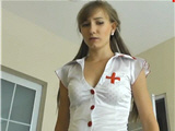 Young sexy nurse knows what is the best therapy