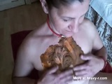 French Mature Gets Shit On - Scat Videos