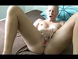 Blonde German Goddess Masturbates