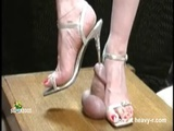 Cock Trampled And Stiletto Sounded - Domination Videos