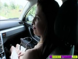 Sexy Elisabeth gets the ride of her life