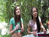 Hot BFFs orgy in Earth Day celebration