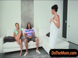 India Summer and Kate England hot trio 2