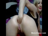 Anally Fisting Herself And Farting - Anal Videos