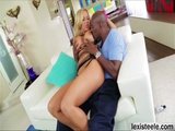 Olivias pussy gets pounded hard by chief Lexs black meat