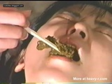 Feeding Shit With Shop Sticks - Scat Videos