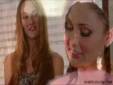 Charming lovers Ariana and Samantha love pussy licking
