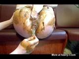 Lesbian Scat Play - Lesbian Videos