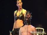 extreme BDSM fetish Porn On Public Stage - Sexfair Videos