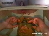 Extreme Femdom Diarrhea Face Shower  - Scat Videos